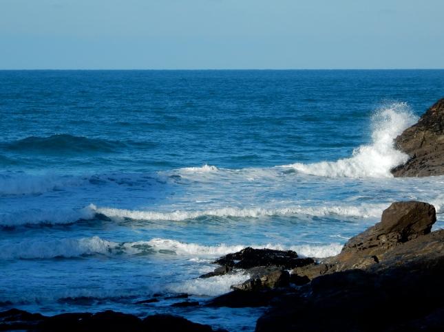 Waves at Chapel Porth