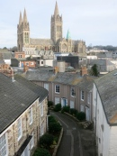 Walsingham Place and the Cathedral, Truro