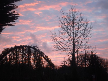 Dawn on Christmas Day 2014