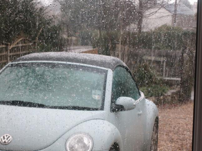 Snow on my Beetle