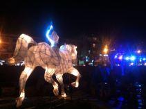 Windhorse in Clocktower Square, Thimpu