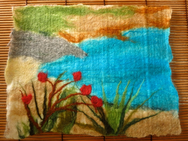 My first attempt at felting
