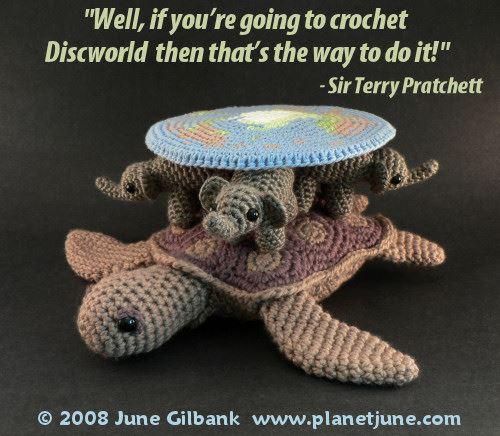 June's Crochet Discworld