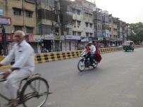 Bike, motor bike and Tuc Tuc on the move