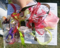 The Hand-fasting ribbons