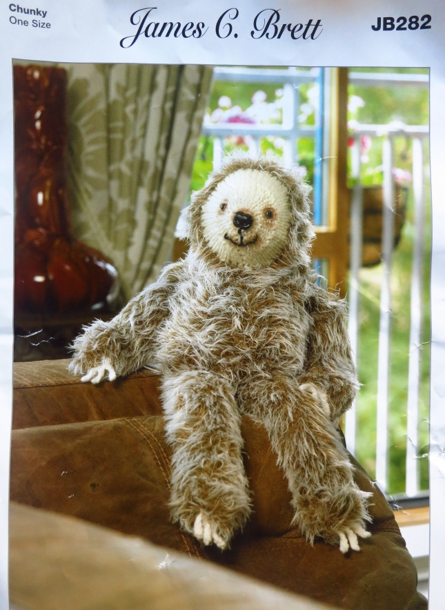 Laid back Larry, the three toed Sloth