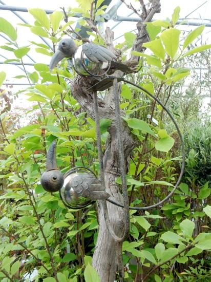 Delightful Woodpecker sculpture