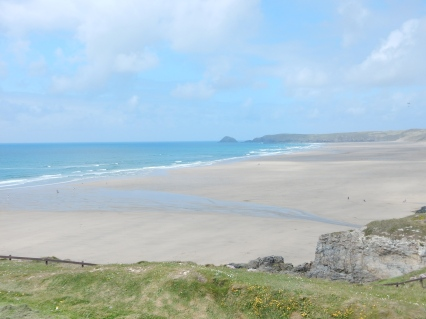 Beautiful Perranporth sands