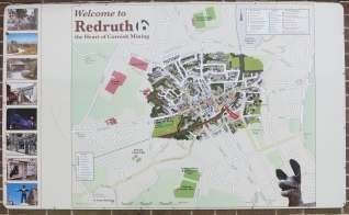 Map of my town, Redruth
