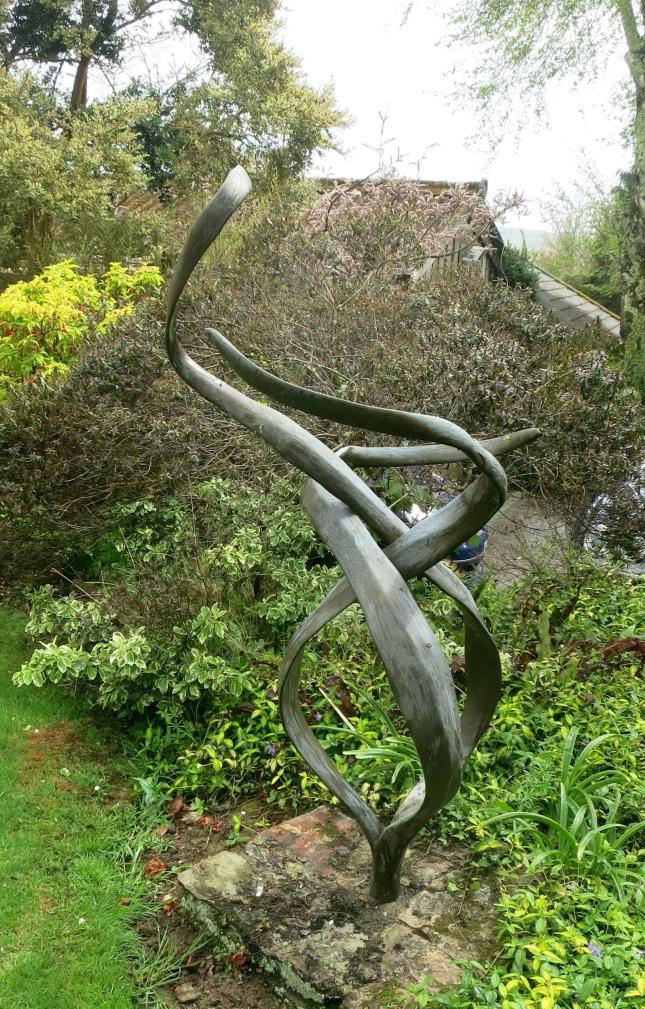 Striking sculpture