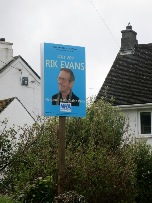 Rik Evans, standing for the NHA