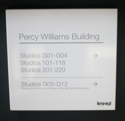 The new building named for Percy Williams
