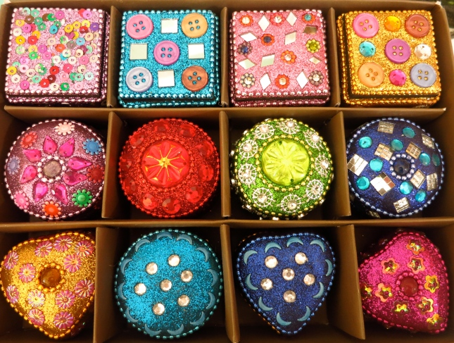 Jewelled boxes