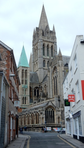 The Cathedral from St Mary's Street