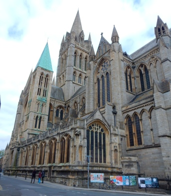 The Cathedral was built to incorporate St Mary's Church