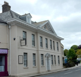 The oldest building in Truro
