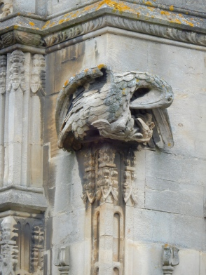 This Gryphon appears to be protecting her young. This wasn't part of the tour, just something that caught my eye.