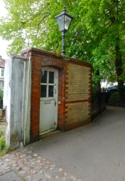 Victorian public toilets which later became a Police station and more recently an art gallery!