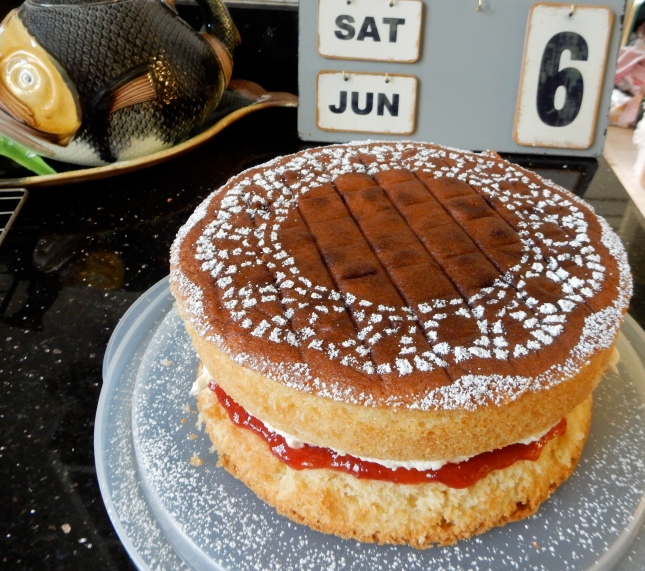 Victoria Sponge to sell at the ceilidh