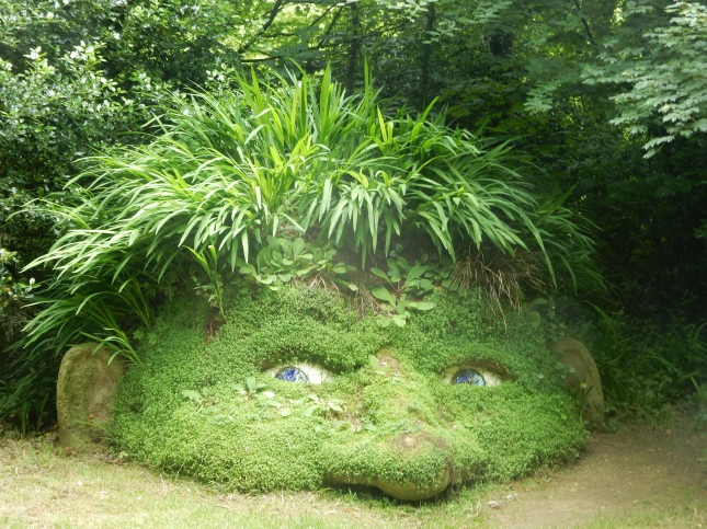 The Heligan Giant, made by Sue Hill and Pete Hill