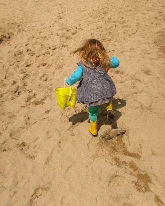 """Is a big sand-pit, Granny!"""