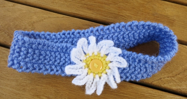 Daisy head-band