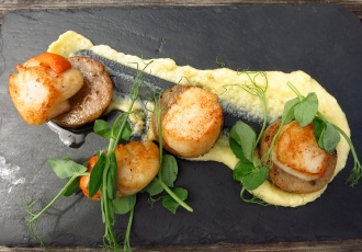 My favourite - scallops