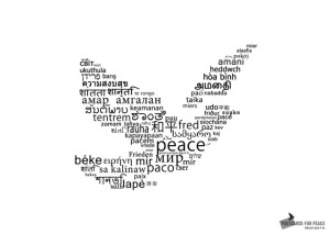 Peace dove from Postcards for Peace