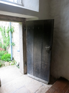 Door to small inner garden