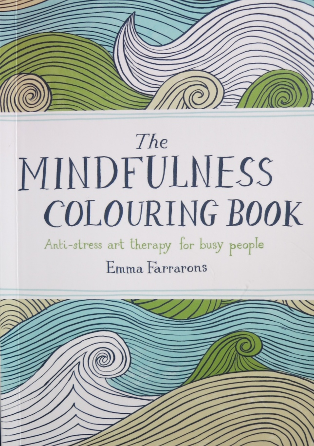 Colouring book for grownups!