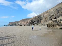 Chapel Porth at low tide