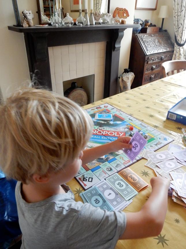 Preparing the game board