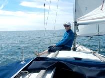 Sue on board