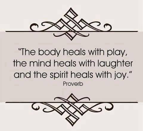 Healing with play, joy and laughter