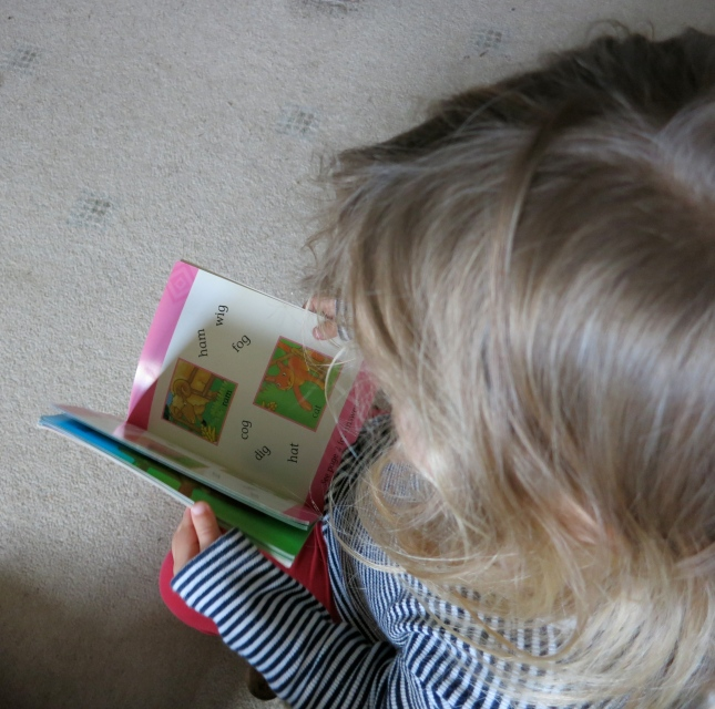 B reading to me