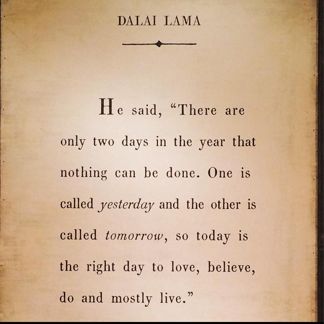 Words from the Dalai Lama