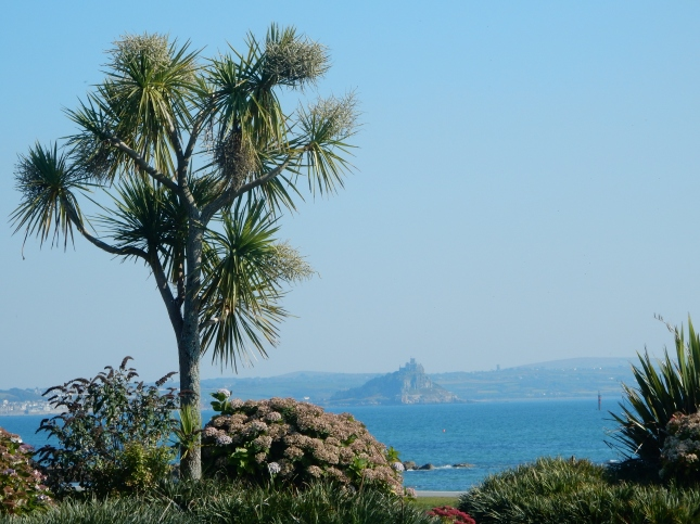 View of St Michael's Mount from Newlyn