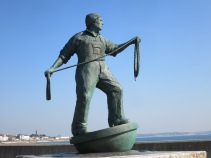 A Sculpture dedicated to all fishermen