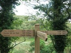Penrose signposts