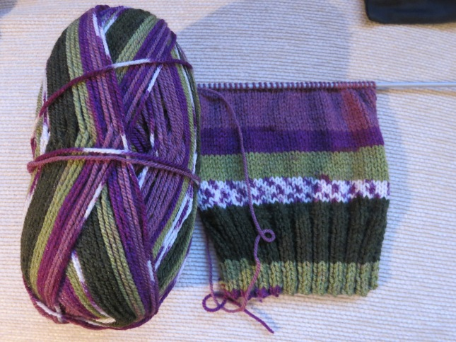 Suffragette yarn!