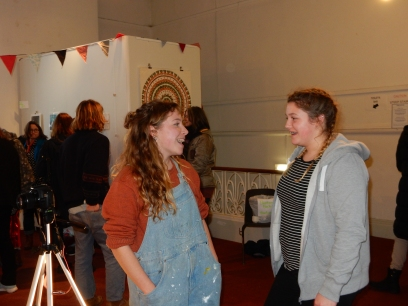 Ruby, the brilliant organiser and her sister, Saffron