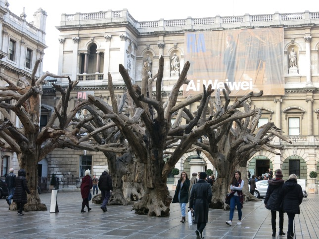 The Ai Wei Wei Exhibition at The Royal Academy