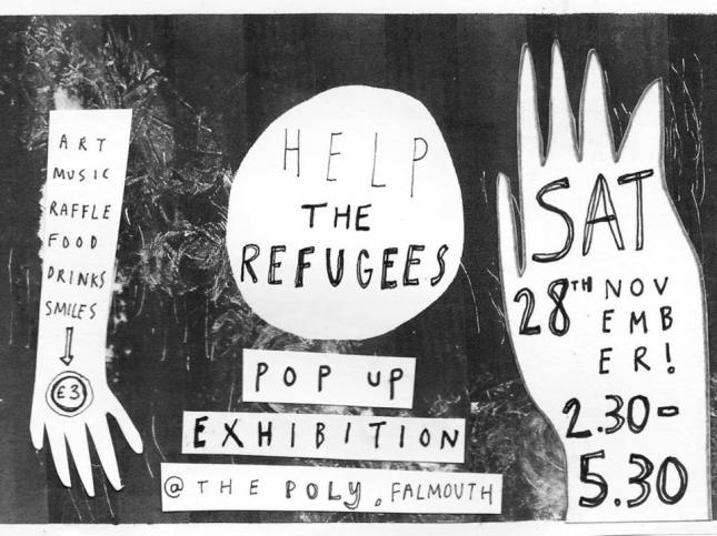 Ruby's Pop Up Exhibition to raise money for the refugees in Lesvos