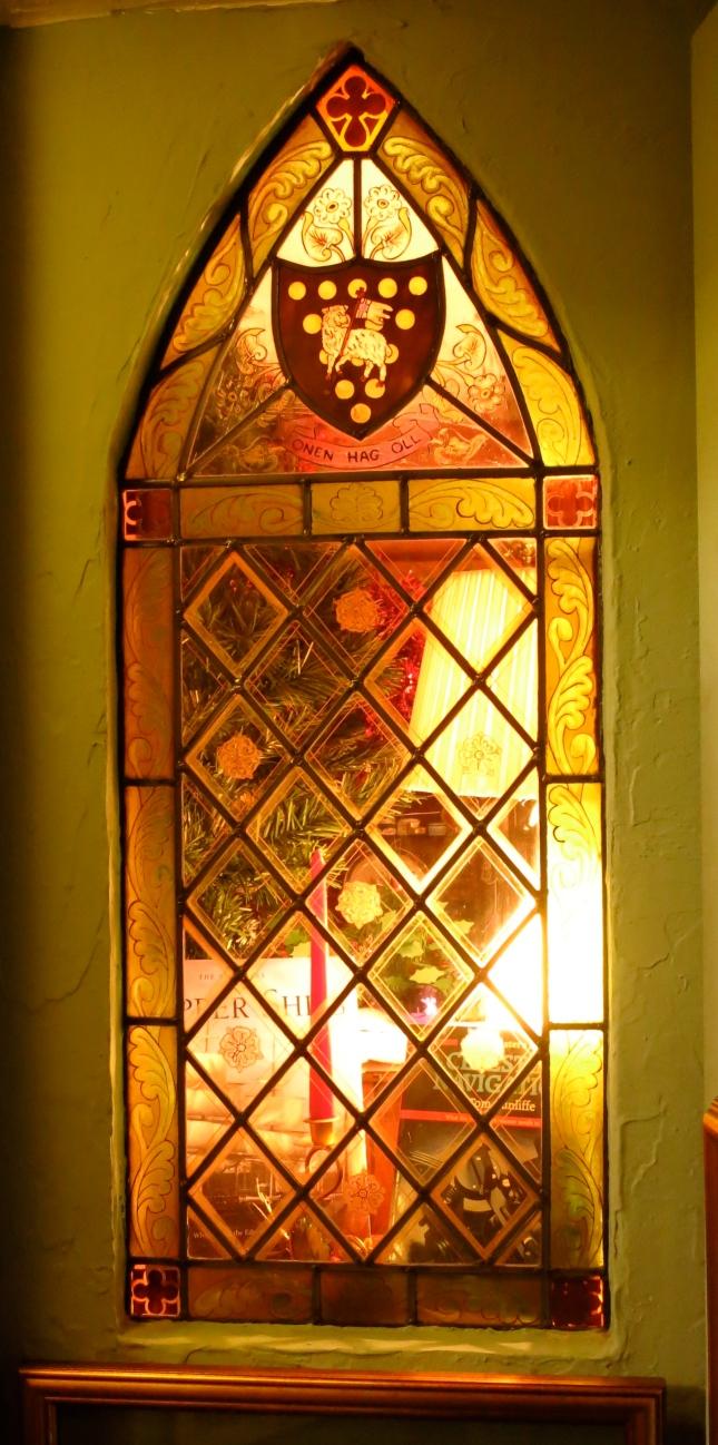 Window near Charlotte's Tea Room