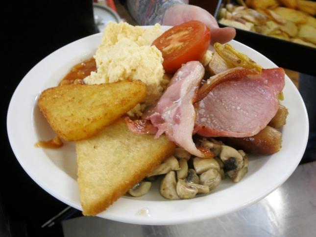 A Full Cornish Breakfast