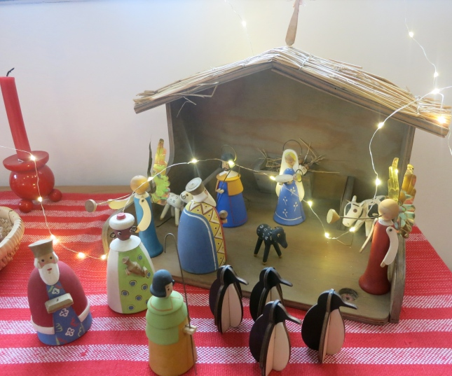 Nativity with penguins