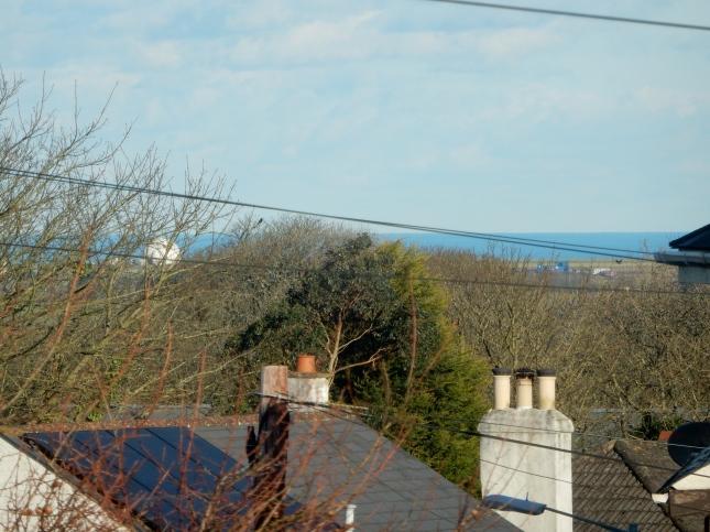 The sea at Porthtowan and St Agnes