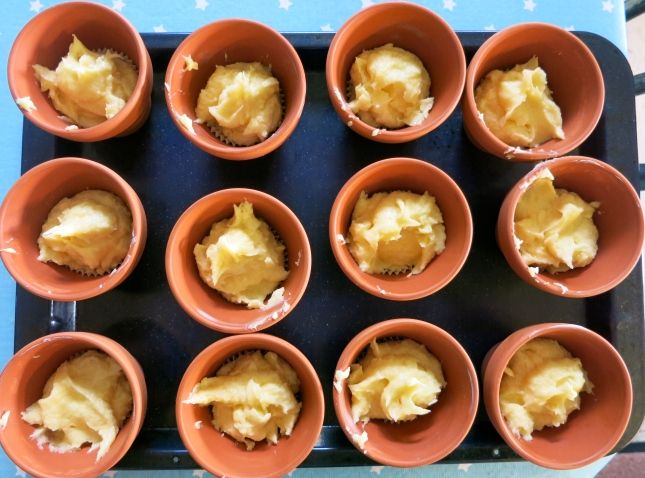 Flower pot buns