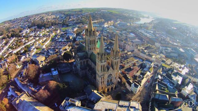 Truro by drone January 2015