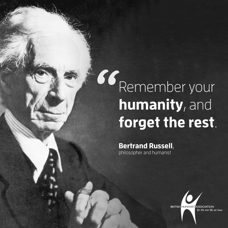 response to bertrand russel s a response to bertrand russell's happy life happiness: what does that fully mean to be truly happy, is that something that you can achieve in life after reading the happy life by bertrand russell , my outlook on happiness hasn't changed but has been enlightened.
